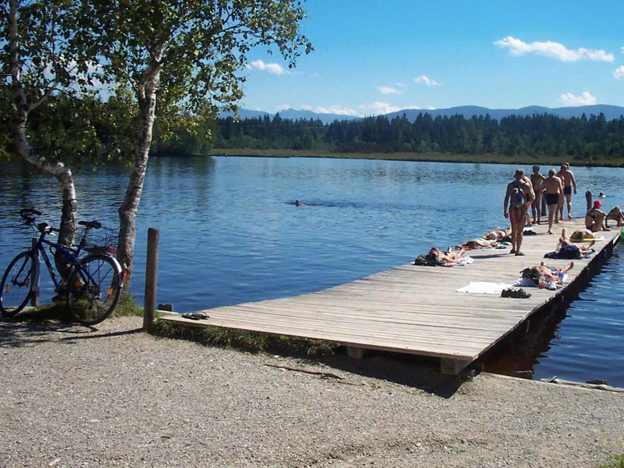 Badespass am Kirchsee