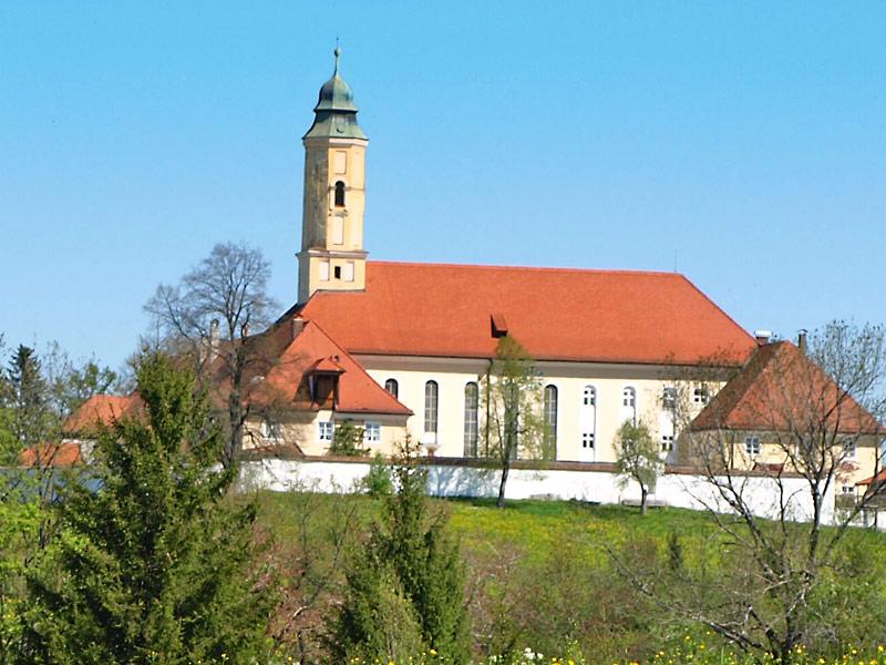Kloster Reutberg von Süden