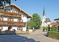 Dorfplatz in Sachsenkam